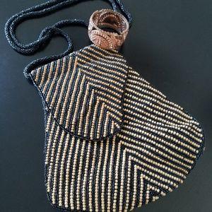 Beaded Crossbody Bag